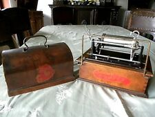 2 Minuten Walzenspieler PATHÉ Pathe COQUET Cylinder Phonograph-motor works 1903