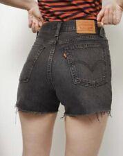Levi Denim shorts.