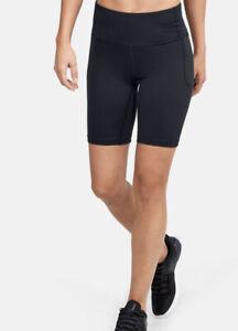Under Armour Women's UA Meridian Bike Shorts 1355914-001 Large NWT $60