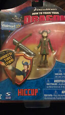 "How to Train Your Dragon Hiccup Action Figure 4""  with shooting Dragon Striker"