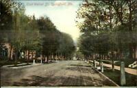 Springfield MO East Walnut St. c1910 Postcard