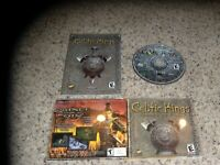 Celtic Kings Rage of Wars (PC, 2002) Near Mint Game with manual