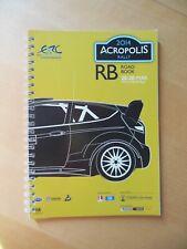 Road book Acropolis Rally 2014