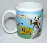 Houston Harvest Disney Mickey Mouse Club House Mug Cup #4325