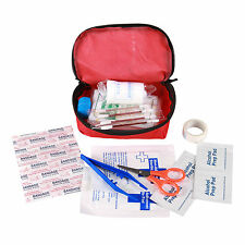 First Aid Kit Emergency Bag Home Car Outdoor American Red Cross Guide Set