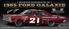 #21 NASCAR FORD GALAXIE 1965 * AUGUSTA MOTOR SALES * Marvin Panch - 1:24 lim.