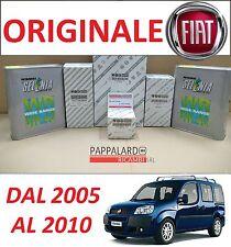 KIT TAGLIANDO 4 FILTRI ORIGINALI+ OLIO SELENIA FIAT DOBLO 1.9 JTD MULTIJET 120CV