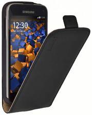 mumbi Ledertasche für Samsung Galaxy S5 Mini Tasche Hülle Case Cover Flip-Case