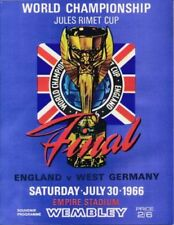 England Away Team Final Football Programmes