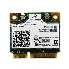 802.11ac Bluetooth 4.0 WiFi for Intel Laptop Dual Band Wireless 867Mbps 7260HMW
