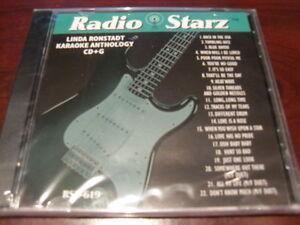 RADIO STARZ CD+G KARAOKE LINDA RONSTADT RSZ-619 SEALED 22 TRACKS (few Left)