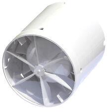 Rohreinschubventilator 150mm mit Rückluftklappe und Nachlauf-Timer