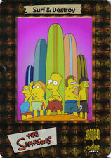 SIMPSONS FILM CARDZ FOIL CEL CARD S-5