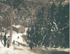 1930s Waterville Valley New Hampshire Skiing Skiers New Hampshire Ski Lodge