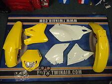 Nuevo Kit Plástico Acerbis MMX Faros DRZ 400 SM e s 00-17 Amarillo plásticos