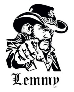 high detail airbrush stencil lemmy forever FREE POSTAGE
