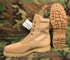 Mens US Military THOROGOOD Coolmax Desert Tan Steel Toe Combat Boots 15.5 R NIB