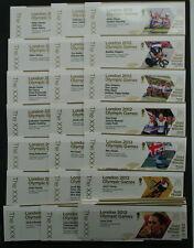 Les 29 jeux olympiques de 2012 médaillés d'or timbres