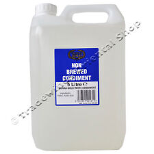WHITE VINEGAR - 4X5L (FOUR 5L BOTTLES)