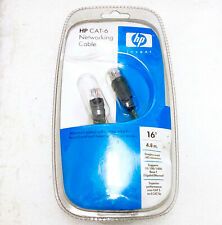 HP CAT-6 NETWORKING CABLE 16' SNAGLESS RJ45 CONNECTOR PP072AA#ABA BRAND NEW!