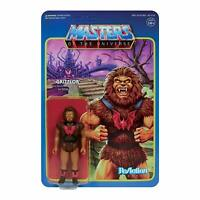Masters of the Universe GRIZZLOR 3.75 inch REACTION FIGURE SUPER 7 New!