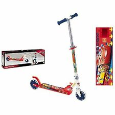 NEW! Disney CARS Two Wheel Foldable Scooter With Adjustable Handle 50kg cap