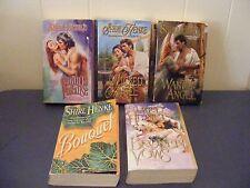 5 SHIRL HENKE - Historical Romances -Wanton Angel/Bouquet LOT of 5 pbs FREE SHIP