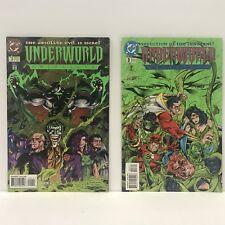 Lot of 2 UNDERWORLD UNLEASHED Issues 1 & 3 [DC Comics 1995] Comic Books