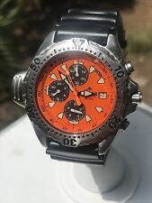 Authentic Citizen Promaster Aqualand Diver 3745-S012821  Vintage, Orange Dial.