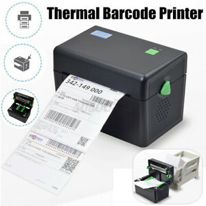 XP-DT108B Direct Thermal Label Printer Barcode 127mm/s High Speed 4x6'' Tool ❤~