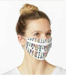 Face Mask Unique Design Fight The Power. Washable.Reusable TAYOTHECREATOR