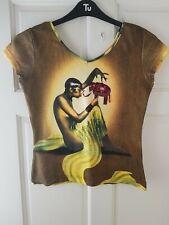 Butler And Wilson Girl & Elephant Print T-Shirt. Size S, M. BNWT