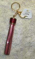 HAVARIA Fashion Leather RED Tassel Crab Claw Metal KEY CHAIN Ring Keychain NEW