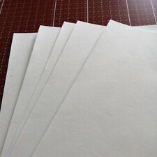 10 Pcs A4 Adhesive Rice Paper Sticker Laser Printer Label Sheets Home Craft DIY
