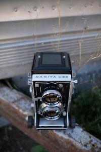 Mamiya C33 Professional TLR Camera w/Mamiya Sekor 1:2.8 f/80mm Lens