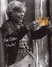 PETER OSTRUM SIGNED 11x14 PHOTO CHARLIE WILLY WONKA GOLDEN TICKET BECKETT BAS