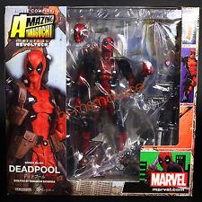 "Deadpool Marvel Revoltech Series No.001 Kaiyodo 6"" Action Figure Complex New"