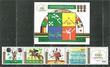 TURKMENISTAN 22-23 MNH BARCELONA SUMMER OLYMPICS SCV 19.25