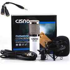 Pro Audio Condenser Microphone Mic Studio Sound Recording for PC Iphone 6s P 6SE