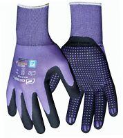 GEBOL MULTI FLEX LADY Handschuhe 7 / S Schutzhandschuhe LILA Arbeitshandschuhe