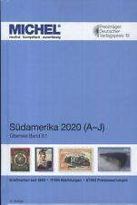 Michel Übersee Banda 3 Parte 1 2020, Sud America a-I 41. Edizione Nuovo Colori