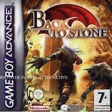 NEUF: jeu BACK TO STONE sur game boy advance pour enfant GBA spiel action juego