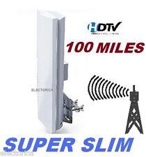 HIGH GAIN SLIM DIGITAL HD ANTENNA HDTV UHF VHF DTV INDOOR OUTDOOR DTV OTA ATSC