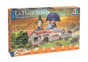 Italeri 6197 Waterloo 1815 La Haye Sainte 1/72 Scale Diorama