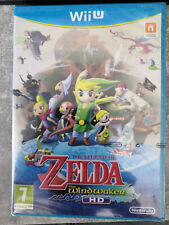 The legend of Zelda the wind waker HD, wii u BLISTER !