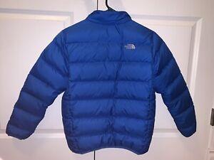 Boys North Face Puffer Winter Coat Jacket L 14/16