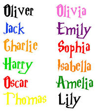 Personalized Harry Potter Boys or Girls Name Deco Vinyl Wall Sticker Words   N4