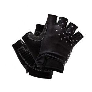 Handschuhe Radrennfahrer Sommer CRAFT Gehen Glove Farbe Schwarz-Weiss