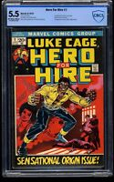 Hero For Hire #1 CBCS FN- 5.5 Off White to White