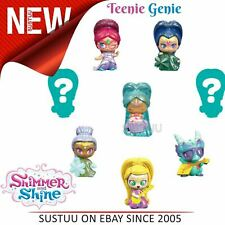 Shimmer and Shine Teenie Genie 8Pk│Kid/Baby's Fun Activity Playset│Giftware│+3y